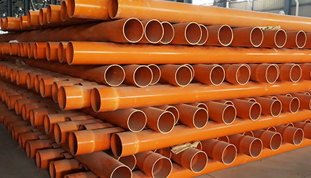 PVC-C埋地式电力电缆保护管